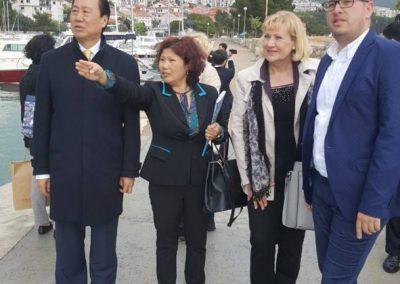 Delegacija iz županije Liao Ning