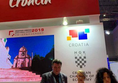 Hrvatski paviljon na kineskom međunarodnom import expo